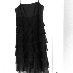 """Strapless Laundry """"little black dress"""""""